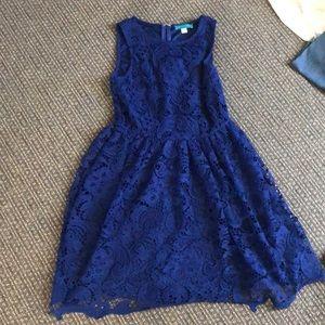 Pim + Larkin Lace Skater Dress